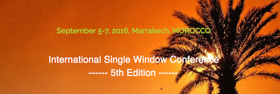 From 5th to 7th September the 5th edition of the International Single Window Conference