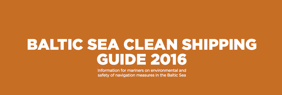 Download the report: Baltic Sea clean shipping guide 2016