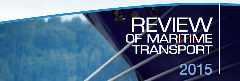 Download the Report: Review of Maritime Transport 2015 - UNCTAD