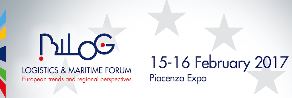 "Coming to Piacenza on 15 and 16 February: ""Bilog - Logistics and Maritime Forum"""