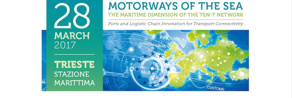 The Motorways of the Sea Forum 2017 in Trieste: the speakers' presentations