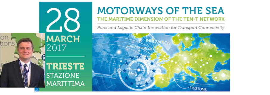 "Mr Sopinski @ ""Motorways of the Sea – The Maritime Dimension of the TEN-T Network"" in Trieste"