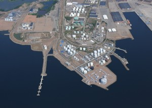 The port of Hamina in FInland.