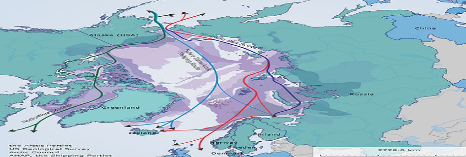 Maritime polar silk way
