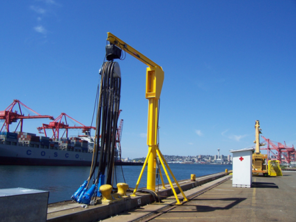 European ports welcome parliament's explicit support to remove the tax barriers for shore-side electricity for ships