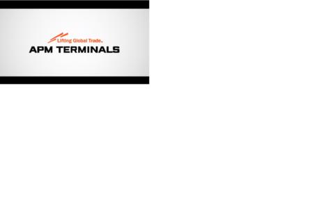 Automated Gates at APM Terminals Gothenburg
