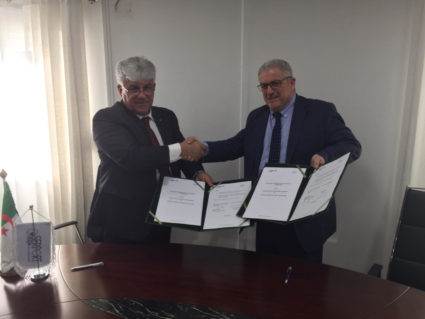The Escola Europea consolidates TransLogMED and SailNet projects in Algeria