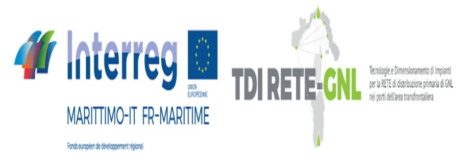 TDI RETE-GNL project - technological and productive solutions for LNG supply and  bunkering  in the cross - border areas ports