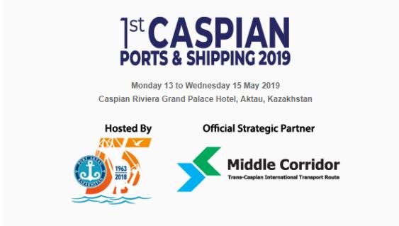 The 1st CASPIAN Ports & Shipping 2019