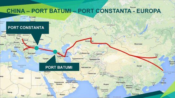 Azerbaijan Caspian Shipping Company to test Batumi-Constanta ports container service