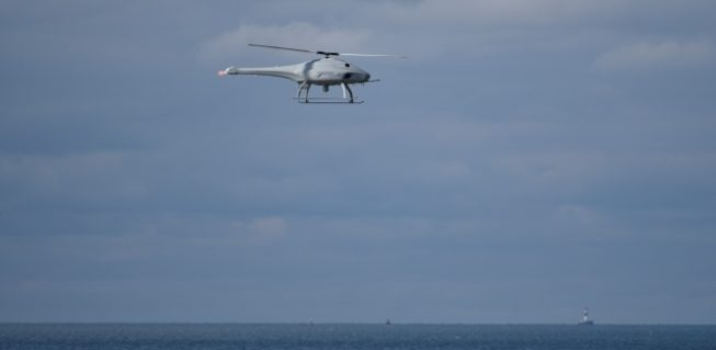 RPAS drones now monitoring ship emissions in Danish waters