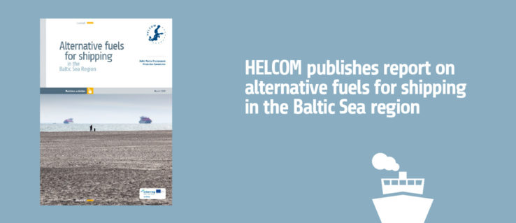 HELCOM published report on alternative fuels for shipping in the Baltic Sea region