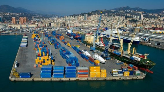 The full operation of the new version of MILOS ® TOS for terminal San Giorgio in the port of Genoa