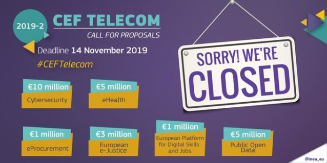Nearly EUR 55 million requested for CEF Telecom projects projects