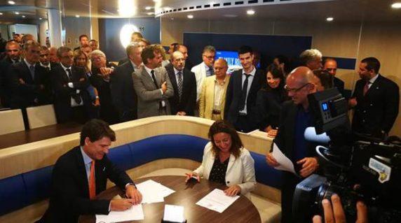 Memorandum of Understanding signed between the Ports of Civitavecchia and Barcelona