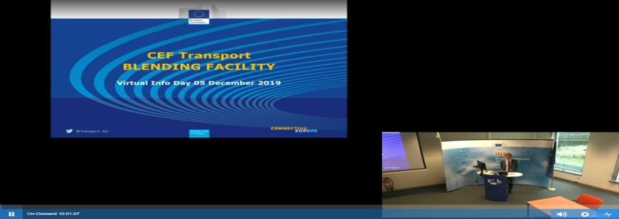 EU blending Facility to support sustainable transport projects - Blending Facility Virtual Info Day