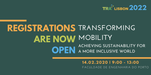 TRANSFORMING MOBILITY - Achieving sustainability for a more inclusive world, on the 14th of February 2020