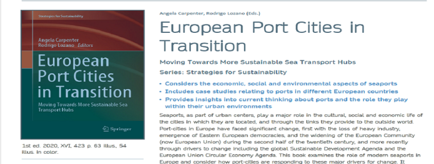 European Port Cities in Transition: Moving Towards More Sustainable Sea Transport Hubs