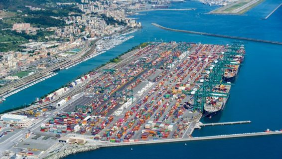 The Southern Gateway to Europe, Ports of Genova,  guarantee vessel and cargo handling for providing of essential goods