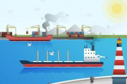 The first annual EU report on CO2 emissions from maritime transport related to the European Economic Area (EEA)
