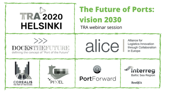"""The Future of Ports"" TRA webinar with ALICE and Port of the Future projects"