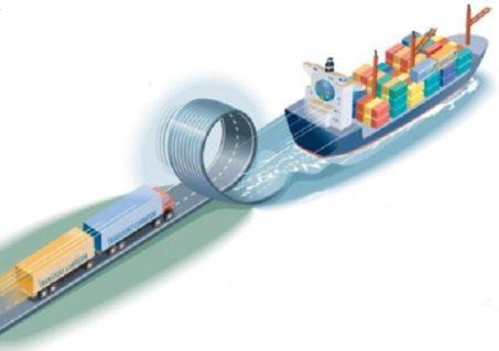 International Fast Trade lane between Casablanca in Morocco and La Spezia in Italy