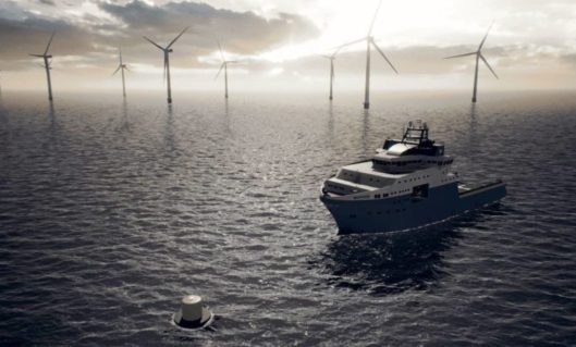 Maersk takes cold ironing concept out to sea