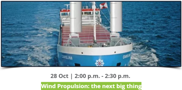 Wind Propulsion: the next big thing