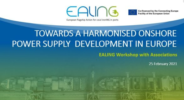 EALING Workshop with Associations – Towards a harmonised onshore power supply development in Europe