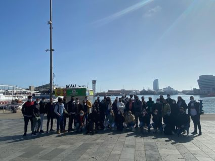 Barcelona: EU-funded YEP MED future professionals in the port management and  logistics sector